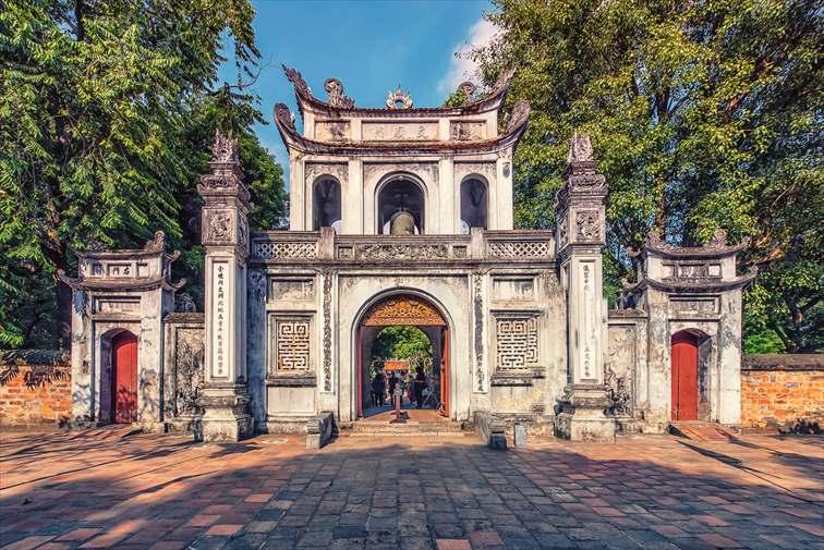 ベトナム北部に位置する首都・ハノイ