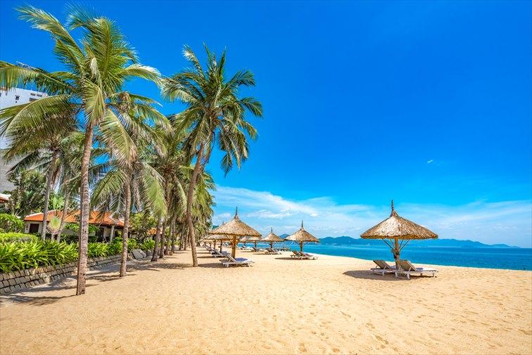 美しいビーチリゾート、ニャチャン