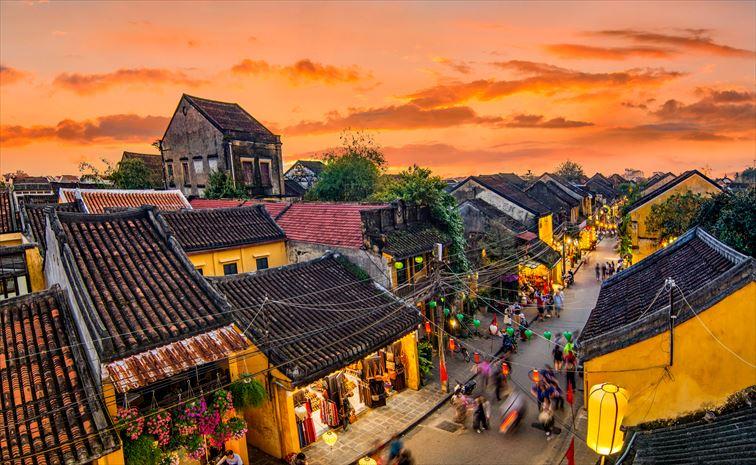 ベトナムの古都「ホイアン」