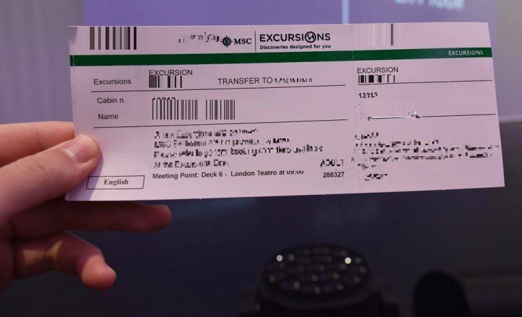 寄港地観光チケット