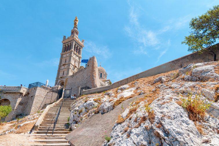 マルセイユ ノートルダムドラギャルドバジリカ大聖堂