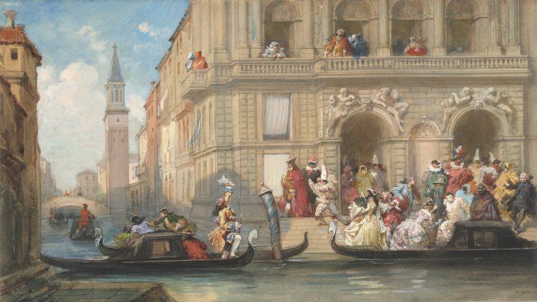 ベネチア ゴンドラ 中世