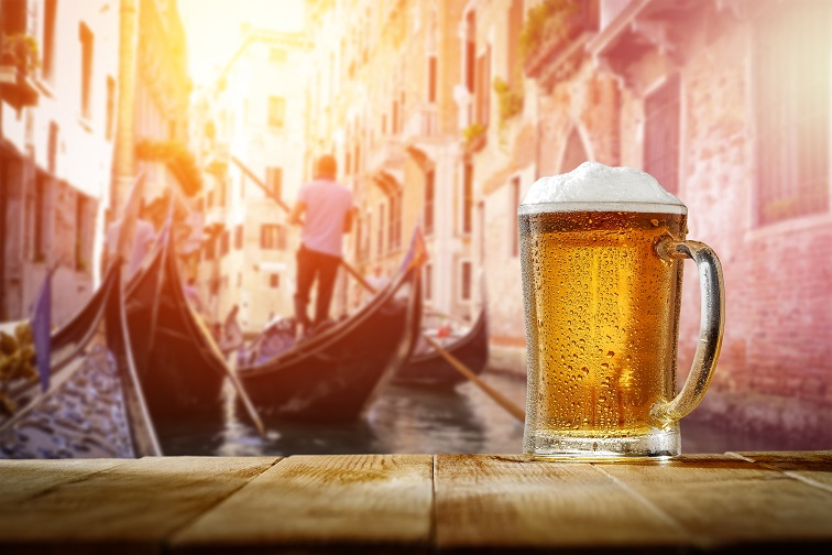 ベネチア バーカロ ビール