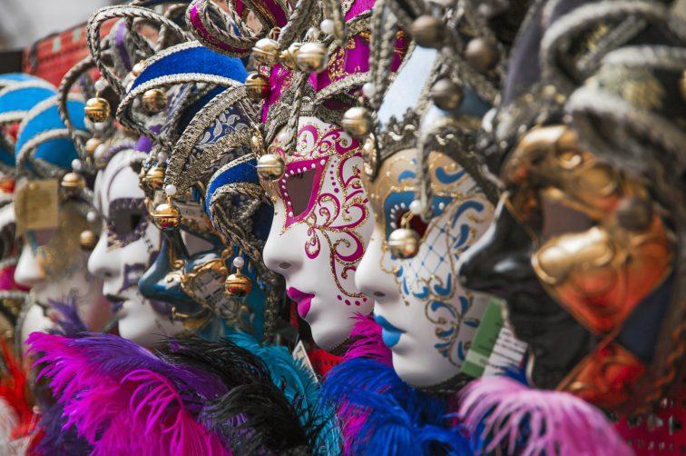 ベネチアカーニバル 仮面