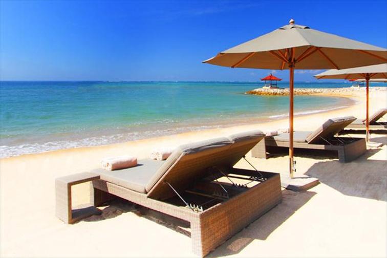 5つ星ビーチフロントリゾートのフェアモント・サヌール・ビーチ・バリ