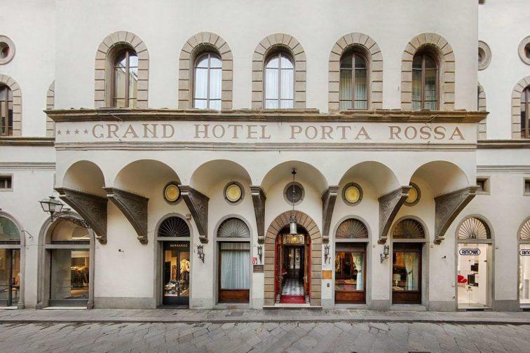フィレンツェ ホテル ポルタロッサ