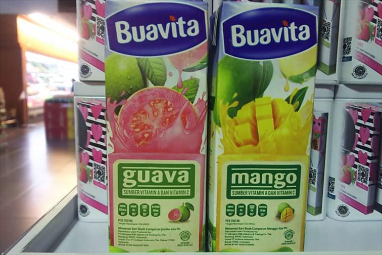 ブアビタのマンゴージュース