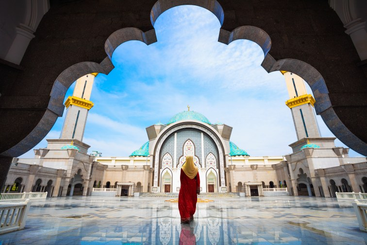 マレーシア人とモスク