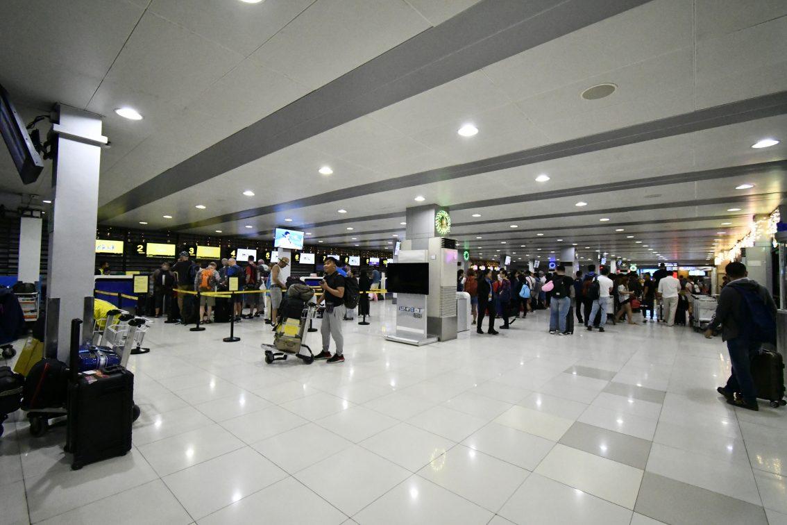 cebu pacific checkin counter in manila