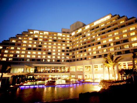 Exterior with pool sheraton hotel guam tour