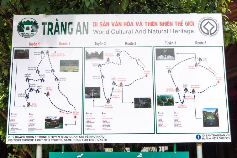 チャンアンのクルーズマップ