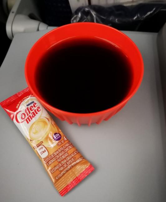 アエロメヒコ航空・機内食