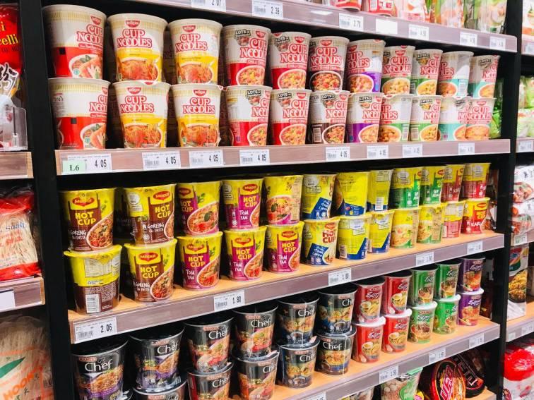 マレーシアのお土産「カップラーメン」
