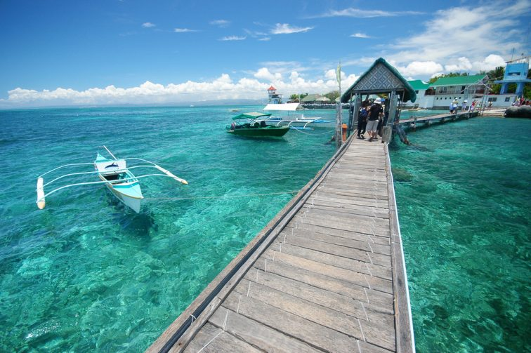 cebu beautiful sea