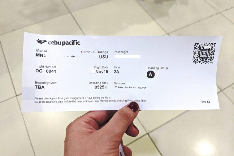 got a cebu pacific air ticket