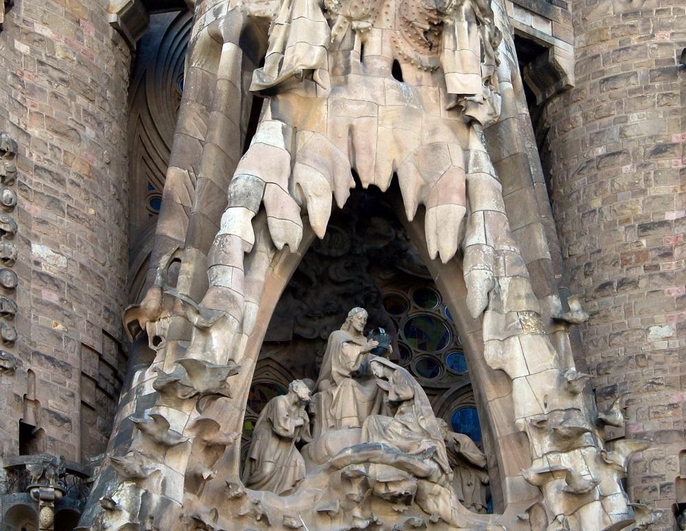 サグラダ・ファミリア 聖母マリア