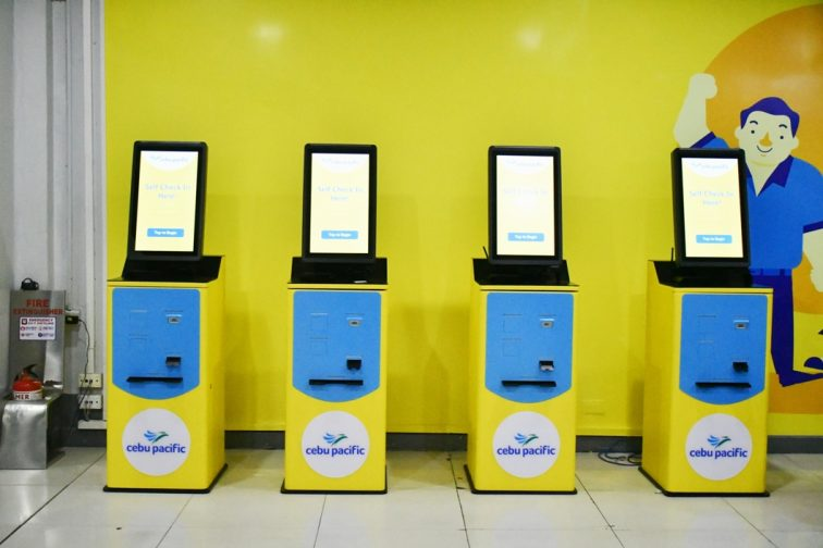 cebu pacific air ticket counter in Manila