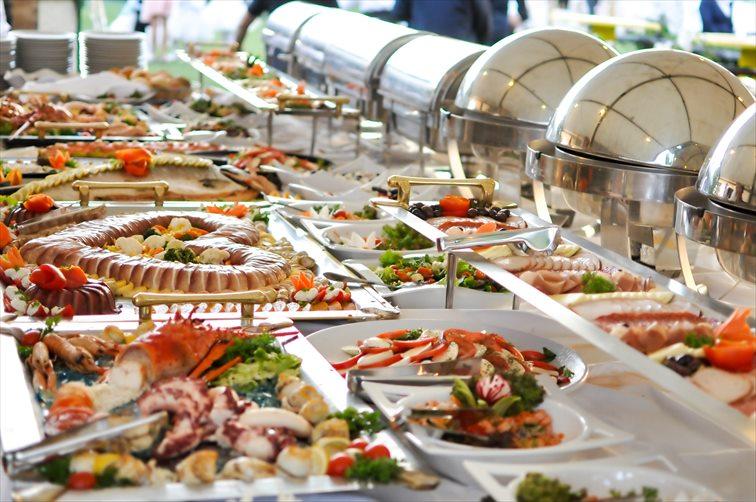 豊富なメニュー展開で、世界中の料理が楽しめる