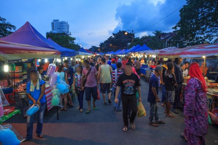 ランカウイ島のナイトマーケット