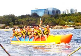 voice banana boat cebu tour