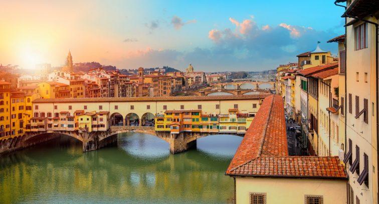 フィレンツェ ベッキオ橋