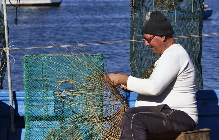 ナポリ 漁師