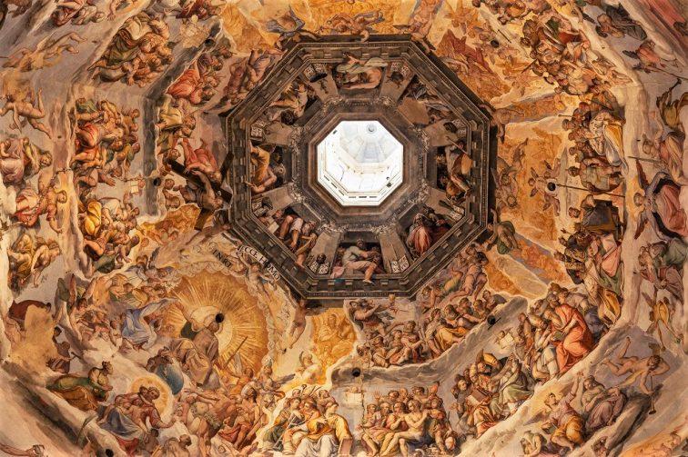 フィレンツェ ドゥオモ クーポラ 天井フレスコ画