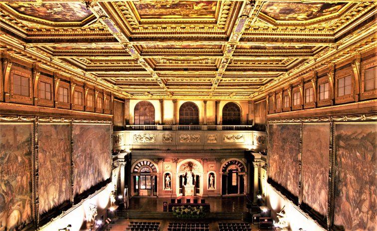 フィレンツェ ベッキオ宮殿 内部