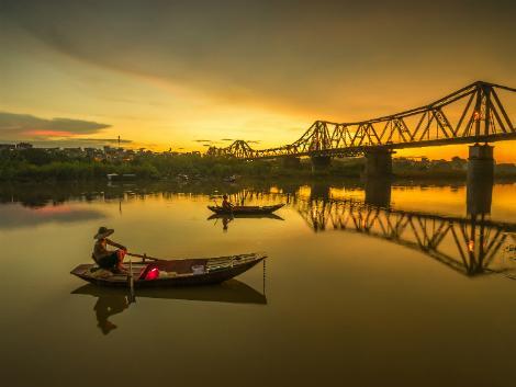 ハノイ ロンビエン橋