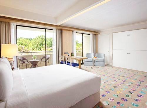 シンガポール・オーチャードエリアの「コンコルドホテル」ファミリールーム