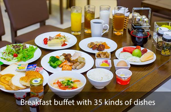 呉竹荘の朝食