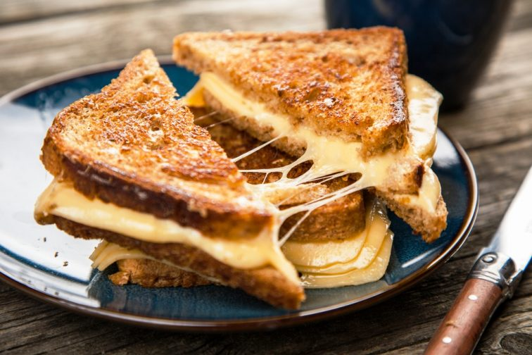 8 image of grilled cheese sand