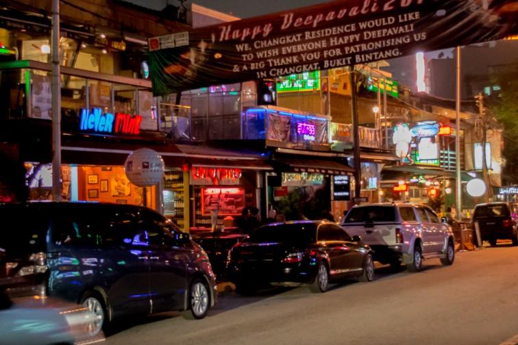 クアラルンプールの夜遊びスポット/ブキッビンタンの「チャンカット」