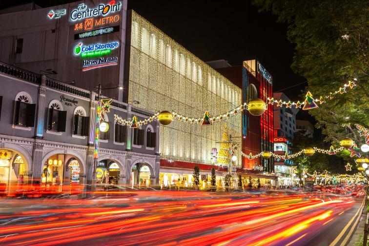 シンガポールのクリスマスの様子