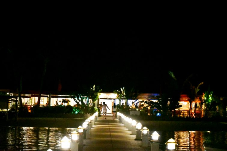 resort in romantic mood