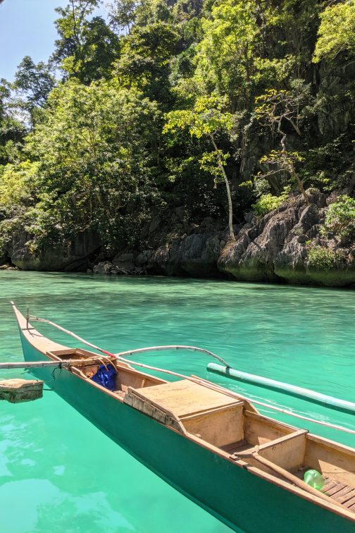floarting house in Coron