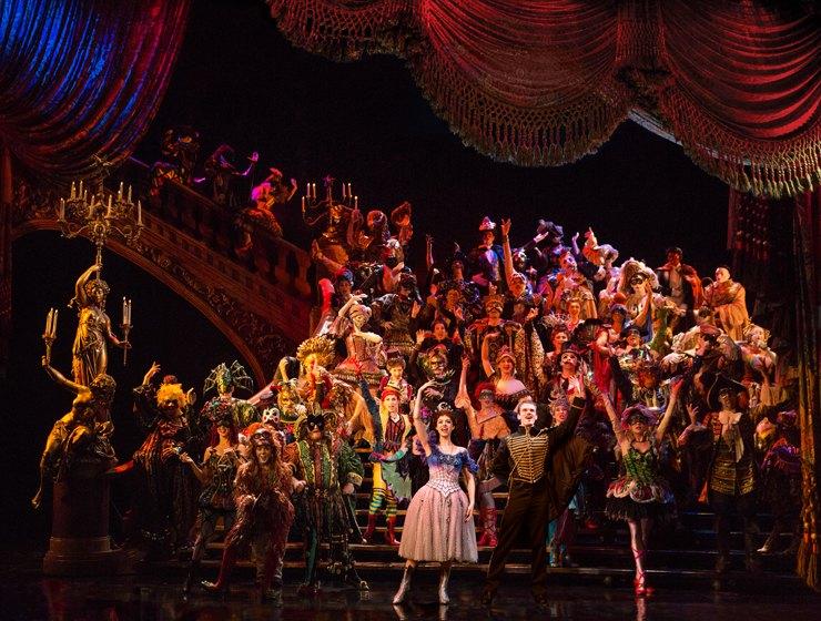 オペラ座の怪人の舞台