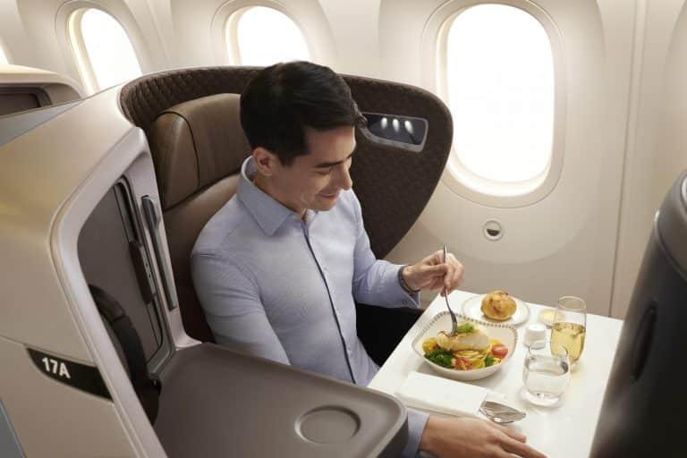 シンガポール航空ビジネスクラス/ブックザクック