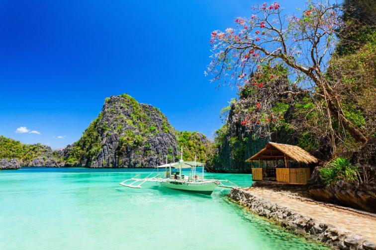coron philippines blue ocean