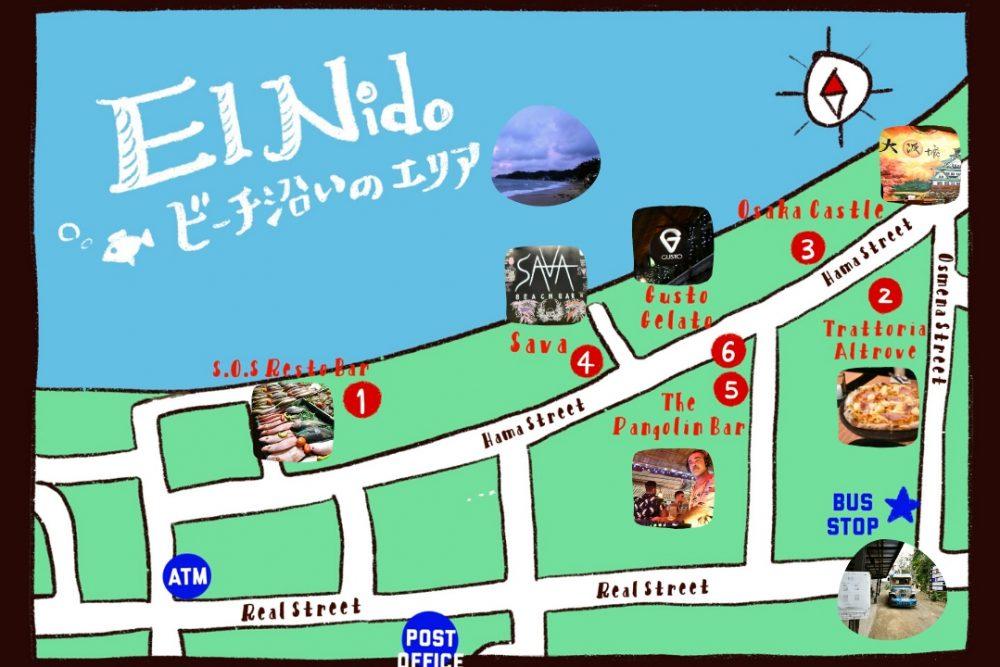 El_Nido_Map_by_the_Seashores_