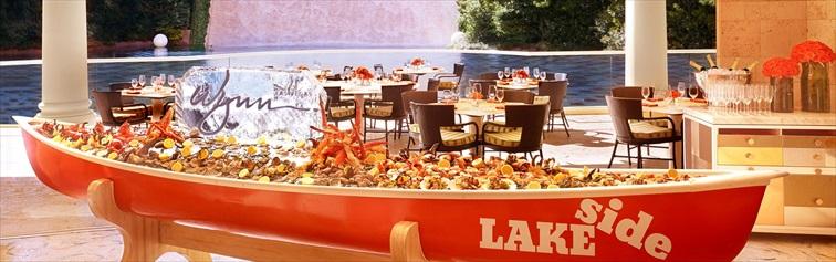 ハワイで獲れた新鮮な魚介類が食べられるシーフードレストラン「Lakeside」