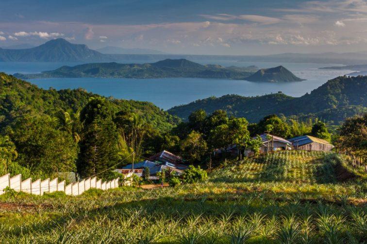 Lake Taal Volcano. Tagaytay