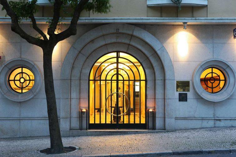 リスボンおすすめホテル ブリタニア