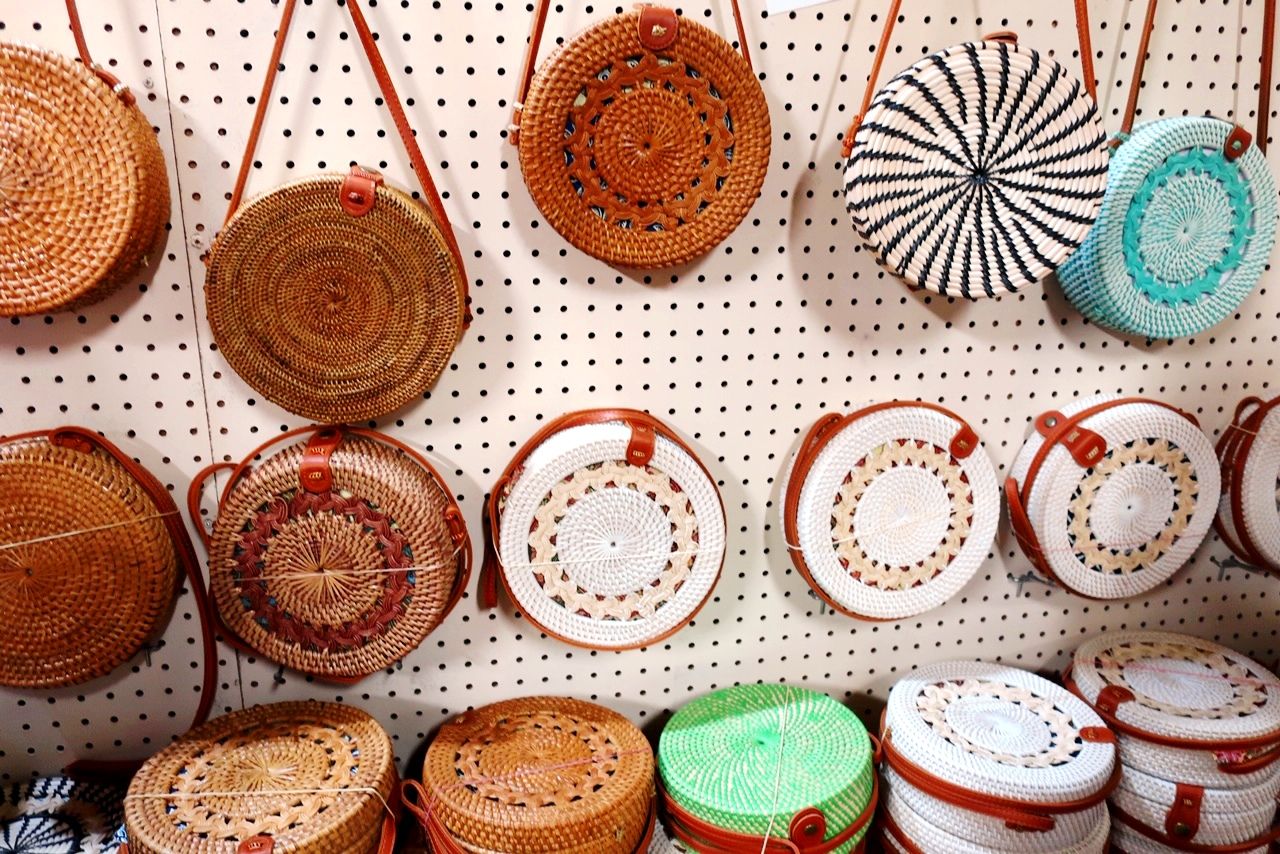 bags at the Chamorro Village Night Market