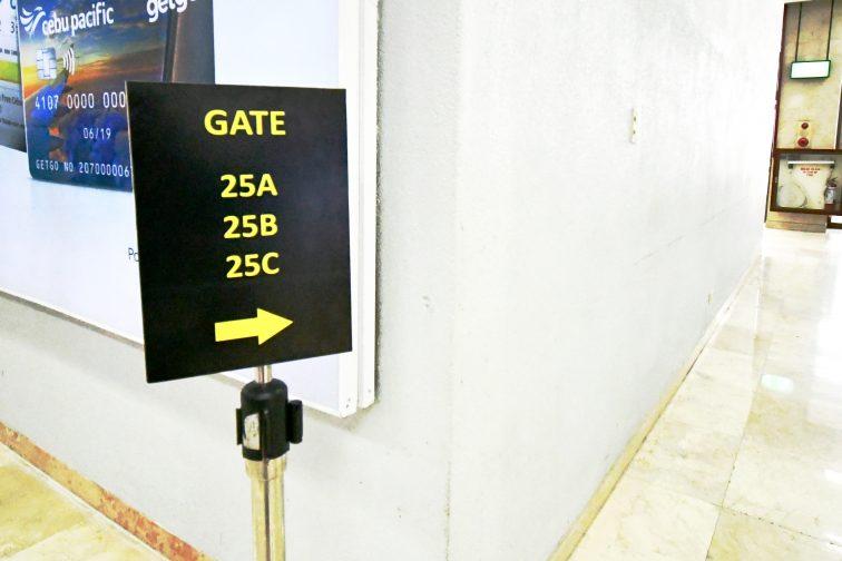 Depature gate 25A-C2