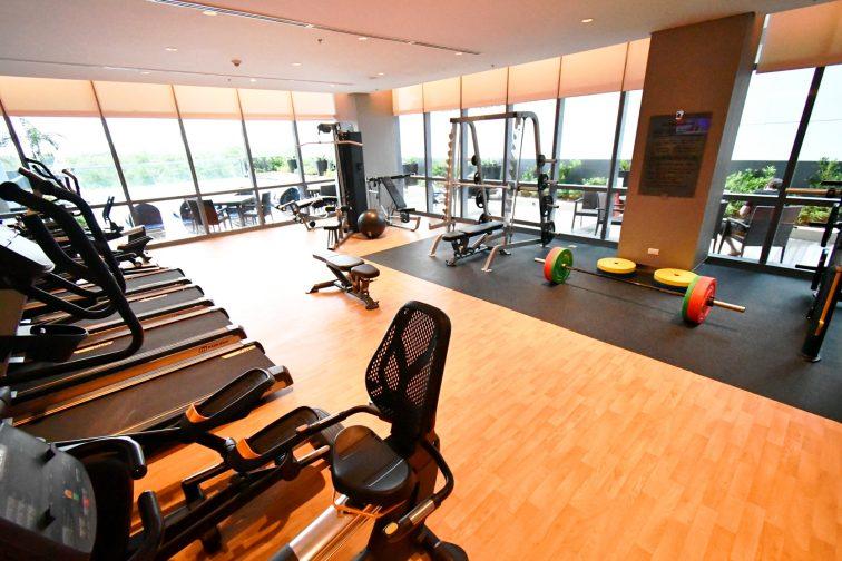 Gym at Savoy hotel1