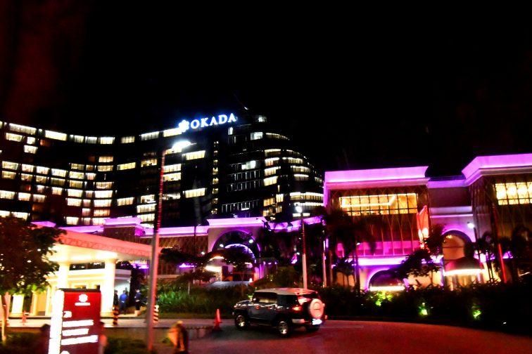 Okada Manila appearance