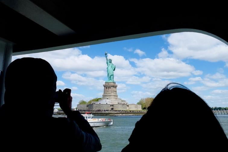 ニューヨーク・自由の女神