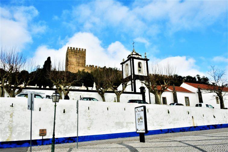 ポルトガル オビドスバス停付近