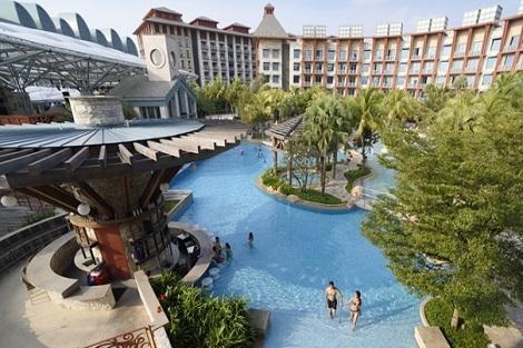 ハードロックホテル シンガポール